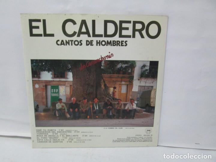 EL CALDERO CANTOS DE MUJERES. CANTOS DE HOMBRES. LOS CARRANCHONIS. LP VINILO. SAGA 1986 (Música - Discos - Singles Vinilo - Étnicas y Músicas del Mundo)