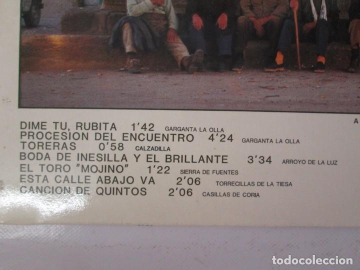 Discos de vinilo: EL CALDERO CANTOS DE MUJERES. CANTOS DE HOMBRES. LOS CARRANCHONIS. LP VINILO. SAGA 1986 - Foto 3 - 141579638
