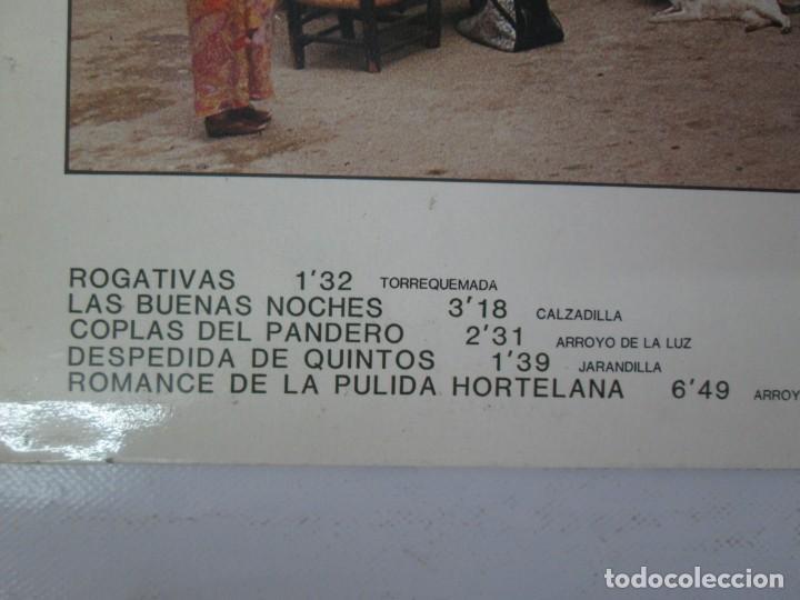 Discos de vinilo: EL CALDERO CANTOS DE MUJERES. CANTOS DE HOMBRES. LOS CARRANCHONIS. LP VINILO. SAGA 1986 - Foto 4 - 141579638