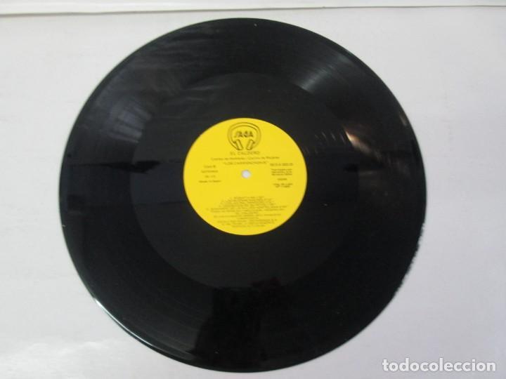 Discos de vinilo: EL CALDERO CANTOS DE MUJERES. CANTOS DE HOMBRES. LOS CARRANCHONIS. LP VINILO. SAGA 1986 - Foto 7 - 141579638
