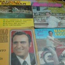 Discos de vinilo: LOTE 4 DISCOS VINILO MANOLO ESCOBAR. Lote 141582328