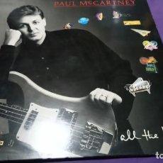 Discos de vinilo: PAUL MCCARTNEY-ALL THE BEST-LP DOBLE . Lote 141588010