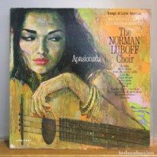 Discos de vinilo: NORMAN LUBOFF CHOIR – APASIONADA LATIN JAZZ US 1961. Lote 141597146