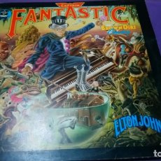 Discos de vinilo: LP ELTON JOHN - CAPTAIN FANTASTIC, RECORD, 1975 DOBLE CARPETA. Lote 141606890
