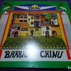 Discos de vinilo: TRIBU-BARRIU CHINU LP VINILO 1978 CON PORTADA DOBLE SPAIN PROMOCIONAL COMO NUEVO. Lote 141608574