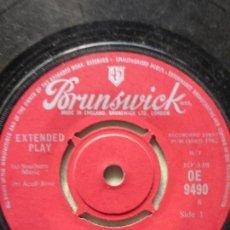 Discos de vinilo: PATSY CLINE – SWEET DREAMS. VINYL, 7, 45 RPM, EP . BRUNSWICK – OE 9490. 1962. UK. SIN CARATULA. Lote 141644982