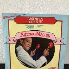 Discos de vinilo: ANTONIO MACHÍN - GRANDES ÉXITOS - LP DOBLE DIAL 1984. Lote 141656646