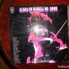 Discos de vinilo: LLENA TU CABEZA DE ROCK DOBLE LP RECOPILATORIO CBS. Lote 141663162