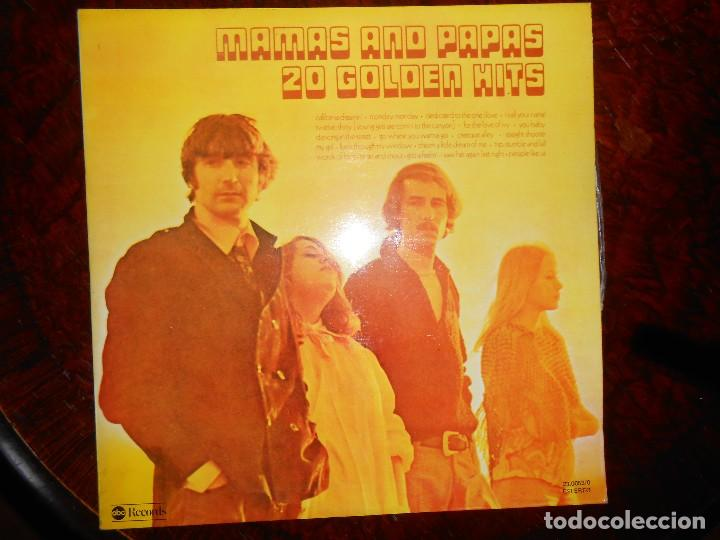 Discos de vinilo: DOBLE LP MAMAS AND PAPAS 2O GOLDEN HITS 1977 ABC RECORDS - Foto 4 - 141668306