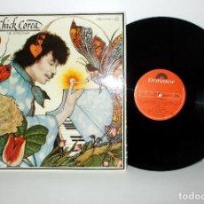 Discos de vinilo: CHICK COREA - THE LEPRECHAUM - LP 2391217 ESPAÑA 1976 NM/NM . Lote 141674046