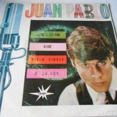 Discos de vinilo: JUAN PABLO, SG, CAPRI C´EST FINI + 1, AÑO 1.966. Lote 141685078