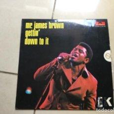 Discos de vinilo: MR. JAMES BROWN - GETTIN DOWN TO IT.. Lote 141691278