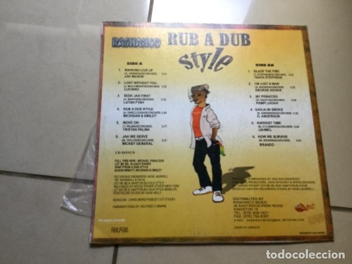 Discos de vinilo: Rashanco vol 5- Rub a dub style . - Foto 3 - 141692106