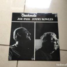 Discos de vinilo: CHECKMATE- JOE PASS, JIMMY ROULES, . Lote 141693610