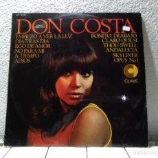 Discos de vinilo: DON COSTA . Lote 141694678