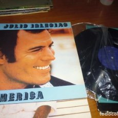 Discos de vinilo: JULIO IGLESIAS. AMERICA - LP. Lote 141694866