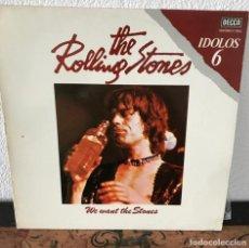 Discos de vinilo: THE ROLLING STONES - WE WANT STONES. Lote 141711910