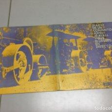 Discos de vinilo: JOHN MAYALL- DIARIO DE UN CONJUNTO . DECCA 15006/7.LP DOBLE. Lote 141701362