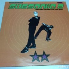 Discos de vinilo: SUBSONIC 2 - UNSUNG HEROES OF HIP HOP . Lote 141728990