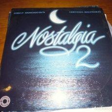 Discos de vinilo: NOSTALGIA 2 . 2 LPS. Lote 141732138