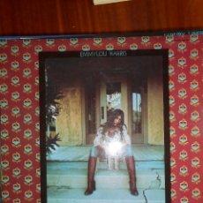 Disques de vinyle: LP EMMYLOU HARRIS. ELITE HOTEL 1976. Lote 141760822