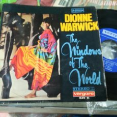 Discos de vinilo: DIONNE WARWICK EP THE WINDOWS OF THE WORLD ESPAÑA 1967. Lote 141764148
