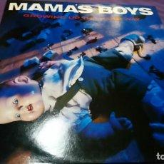Discos de vinilo: MAMAS BOYS - GROWING UP THE HARD WAY - ALBUM VINYL RCA RECORD. Lote 141765850
