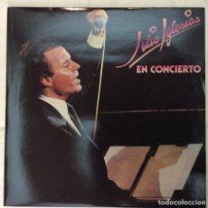 Discos de vinilo: DISCO VINILO LP JULIO IGLESIAS EN CONCIERTO. Lote 141772170