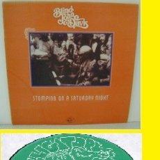 Discos de vinilo: BLIND JOHN DAVIS - STOMPING ON A SATURDAY NIGHT 77, BLUES BOOGIE, RARO, ORG USA ALLIGATOR, IMPECABLE. Lote 141775870