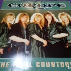 Discos de vinilo: EUROPE-THE FINAL COUNTDOWN-MAXISINGLE 45 RPM-. Lote 141778598