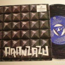 Discos de vinilo: PADRES FRANCISCANOS DEL SANTUARIO DE ARANZAZU (OÑATE) - EP COLUMBIA 1965. Lote 141779954