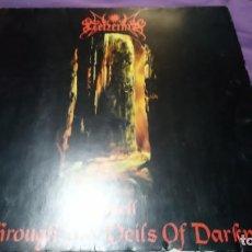 Discos de vinilo: GEHENNA - SEEN THROUGH THE VEILS OF DARKNESS... THE 2ND SPELL.LP EDICION LIMITADA EN PERFECTO ESTADO. Lote 141783778