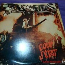 Discos de vinilo: PLASMATICS– COUP D'ETAT (1983) LP. Lote 141783942