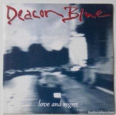 Discos de vinilo: DEACON BLUE: LOVE AND REGRET. Lote 141791406