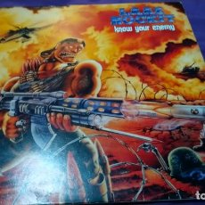 Discos de vinilo: LP LAAZ ROCKIT - KNOW YOUR ENEMY ENIGMA DRO 1987. Lote 141796558
