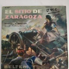 Disques de vinyle: EL SITIO DE ZARAGOZA. Lote 141801105