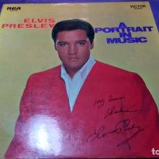 Discos de vinilo: ELVIS PRESLEY A PORTRAIT IN MUSIC LP. Lote 141802614