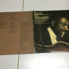 Discos de vinilo: WES MONTGOMERY - THE SMALL GROUP RECORDINGS . 2 LP . Lote 141805486