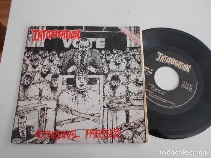 INTOXICATION-EP CEREBRAL PARASITE +3 (Música - Discos de Vinilo - EPs - Heavy - Metal)