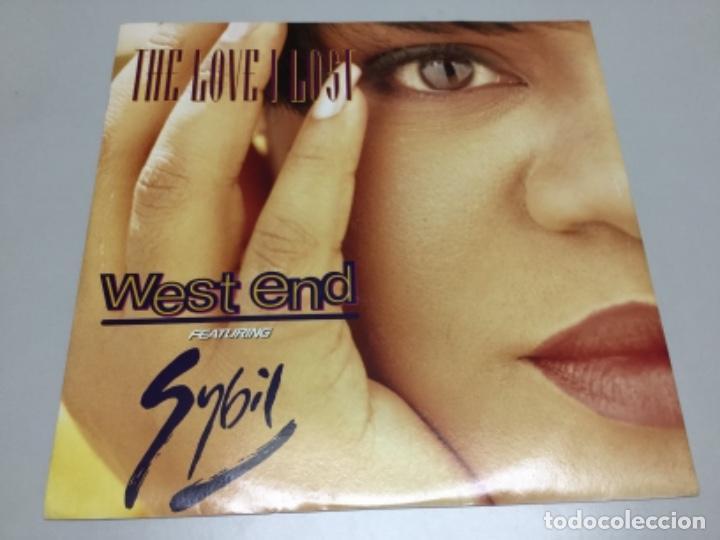 WEST AND FEATURING SYBIL- THE LOVE I LOST (Música - Discos de Vinilo - EPs - Electrónica, Avantgarde y Experimental)