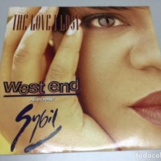 Discos de vinilo: WEST AND FEATURING SYBIL- THE LOVE I LOST . Lote 141815662