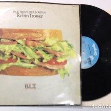 Discos de vinilo: DISCO LP VINILO JACK BRUCE / BILL LORDAN / ROBIN TROWER B.L.T. . Lote 141816154