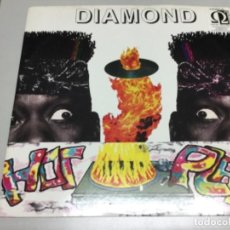 Discos de vinilo: DIAMOND - HOT PLATE . Lote 141817006