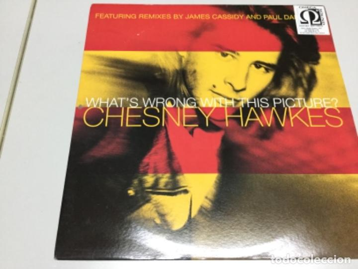 CHESNEY HAWKES- WHATS WRONG WITH THIS PICTURE. (Música - Discos de Vinilo - EPs - Electrónica, Avantgarde y Experimental)