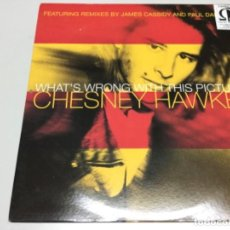 Discos de vinilo: CHESNEY HAWKES- WHATS WRONG WITH THIS PICTURE.. Lote 141817822