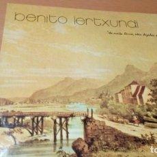 Discos de vinilo: BENITO LERTXUNDI ETA MAITA HERRIA UKEN DEZADAN PLAZERA LP INSERTO. Lote 180496433