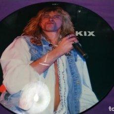 Discos de vinilo: KIX PICTURE DISC . Lote 141818818