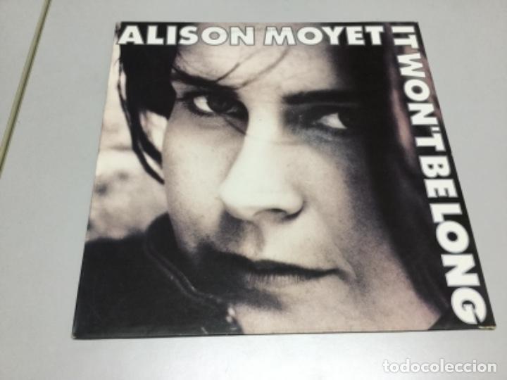 ALISON MOYET - IT WONT BE LONG (Música - Discos de Vinilo - EPs - Electrónica, Avantgarde y Experimental)