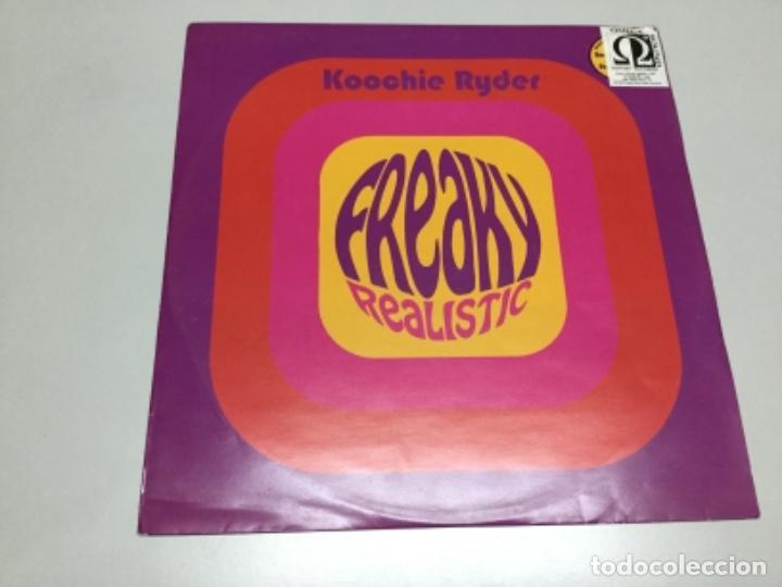 KOOCHIE RYDER - FEAKY REALISTIC (Música - Discos de Vinilo - EPs - Electrónica, Avantgarde y Experimental)