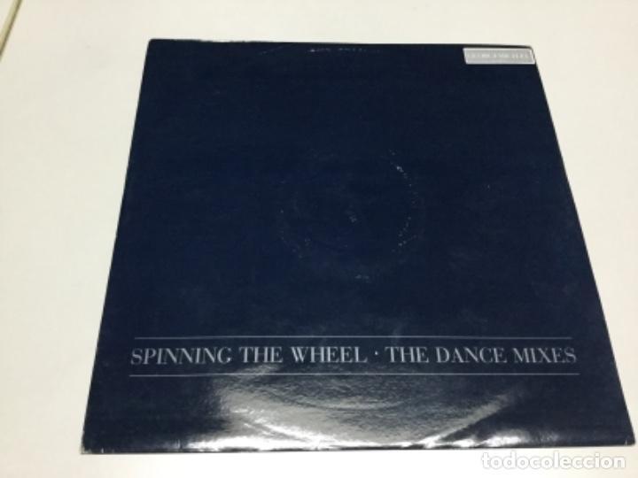 GEORGE MICHAEL - SPINNING THE WHEEL. (Música - Discos de Vinilo - EPs - Electrónica, Avantgarde y Experimental)